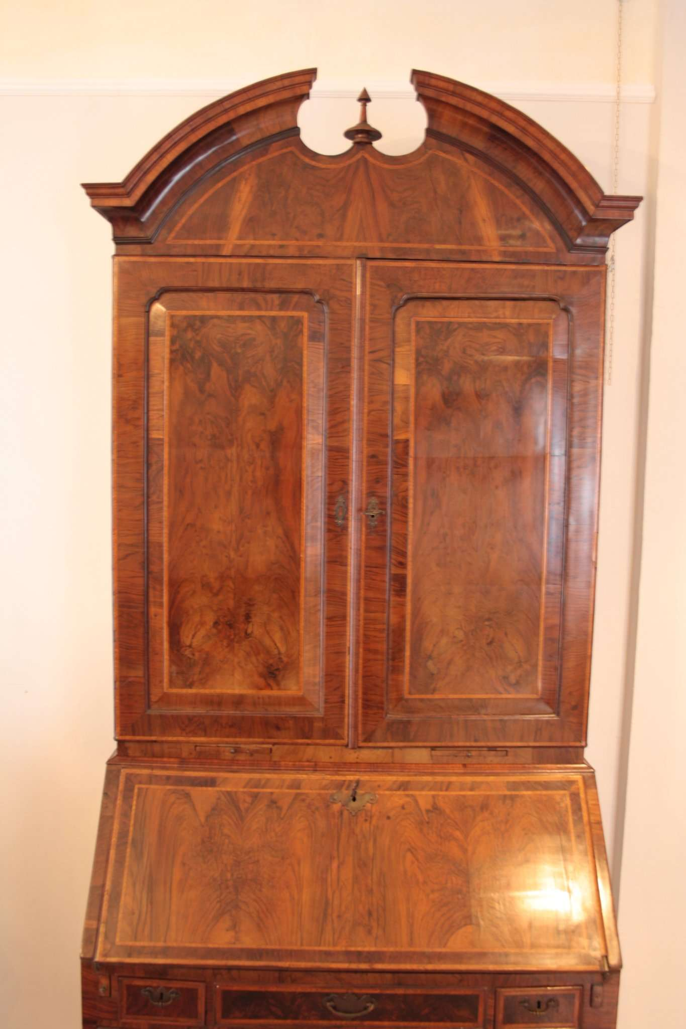 Walnut Trumeaux Secretaire Louis XVI 1770 1790