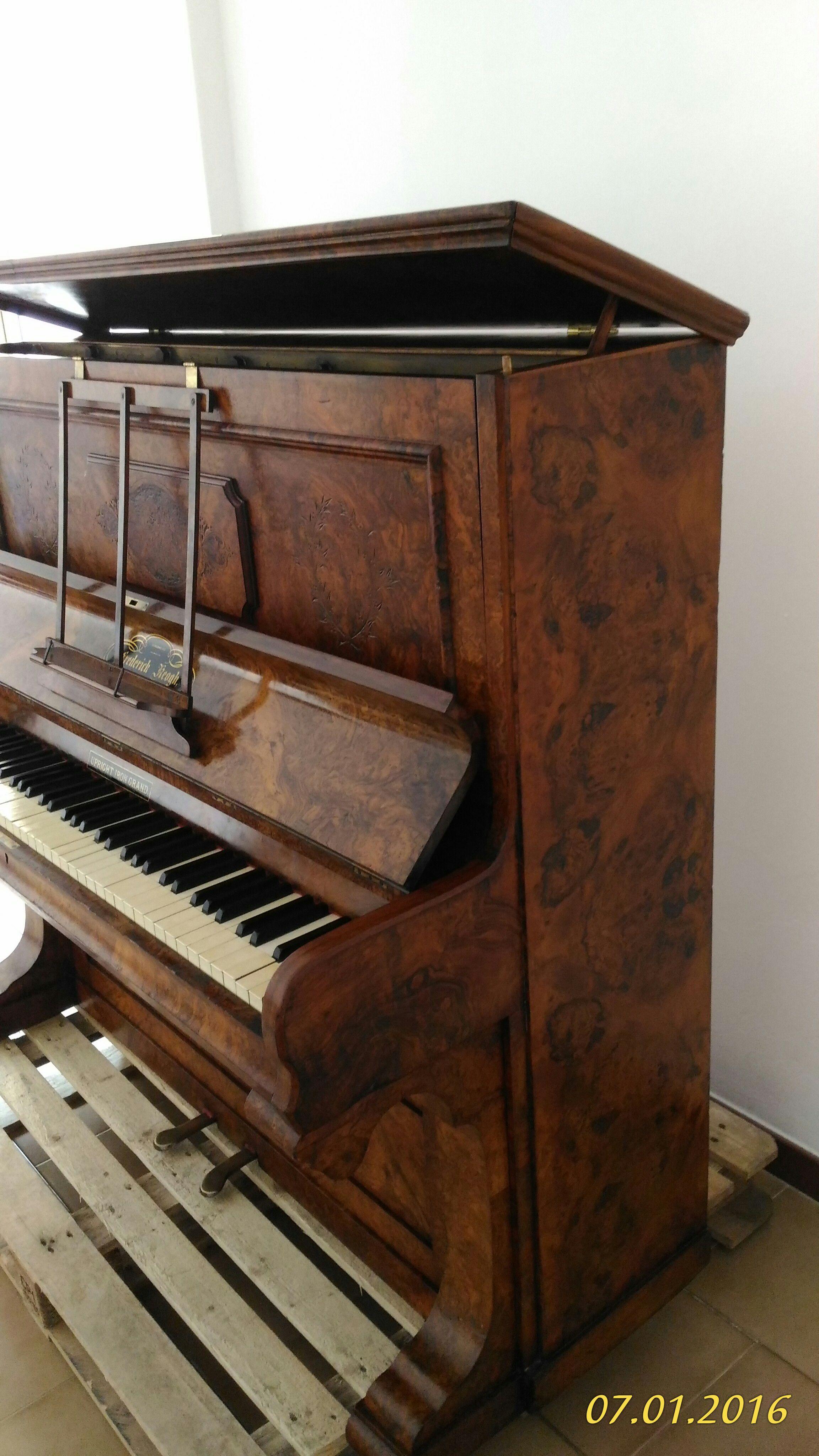 Пианино Фредерик, 1870, Лондон