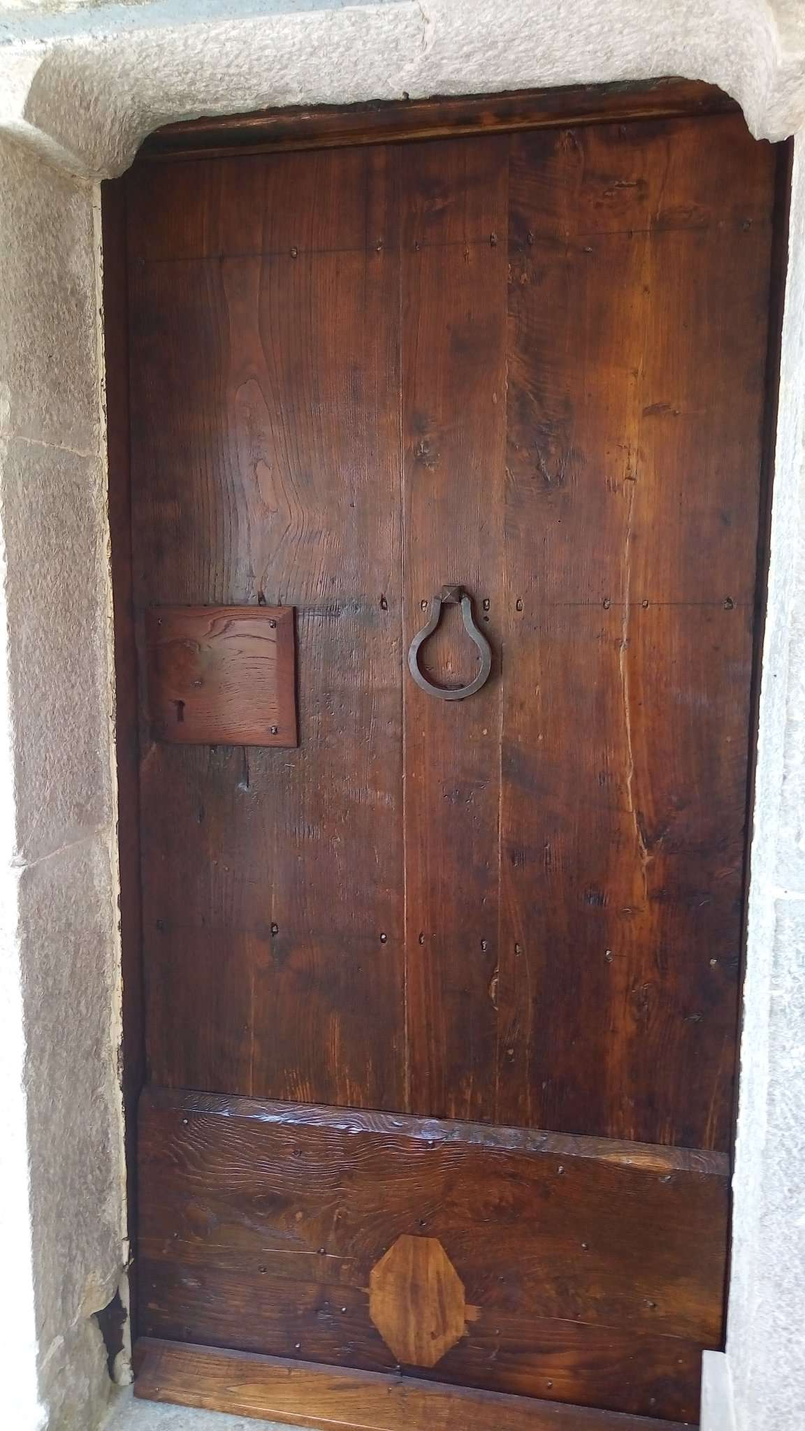 антикварная деревянная дверь восстановление XVIII века